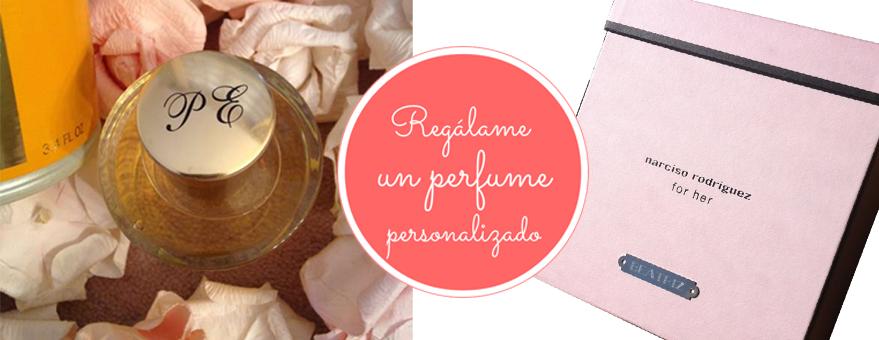 Grabación de perfumes