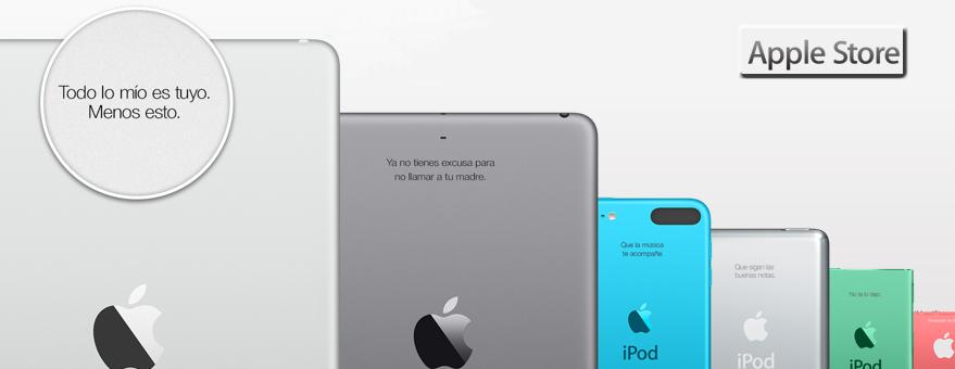 Marcaje láser de Ipad y Ipod