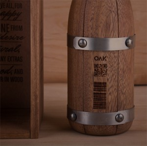 Oak Wine: packaging de madera