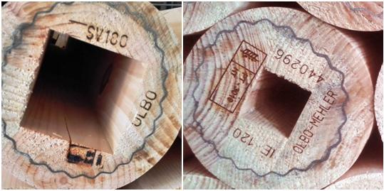Grabado de piezas de madera con láser CO2
