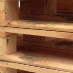 Marcaje laser palet madera
