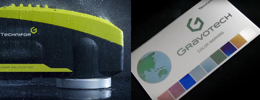 Marcar acer inoxidable con laser