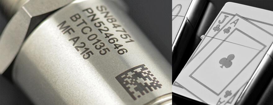 Marcaje de metales con láser CO2