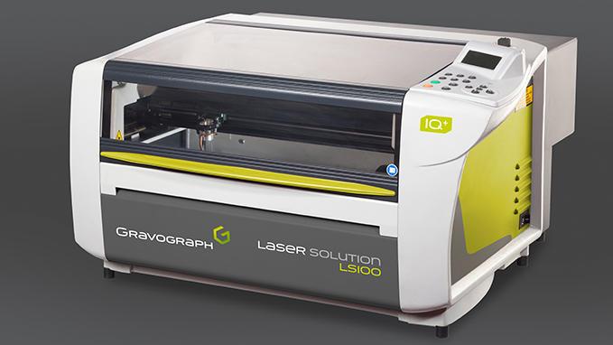 Máquina de grabado y corte láser CO2 modelo LS100