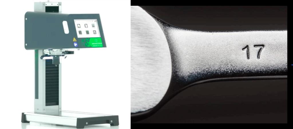 Marcaje de herramientas con la máquina de micropercusión IMPACT