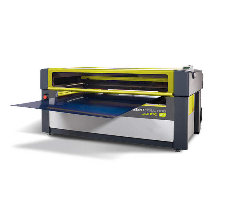 Maquina grabado recorte laser LS1000XP passthrough