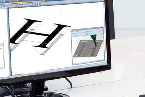 TypeEdit software CAD-CAM interface