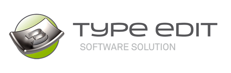 TYPE EDIT/LASER TYPE Logo